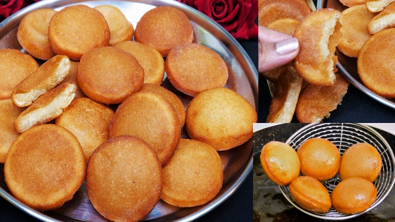 ना दूध ना मावा न चाशनी बनायीं 8 मिनट में ऐसी मिठाई जो लगे गुलाबजामुन और मालपुए का भाई Sooji Pitha