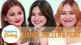 Dianne, Coleen and Yeng give their respective husbands sweet messages | Magandang Buhay