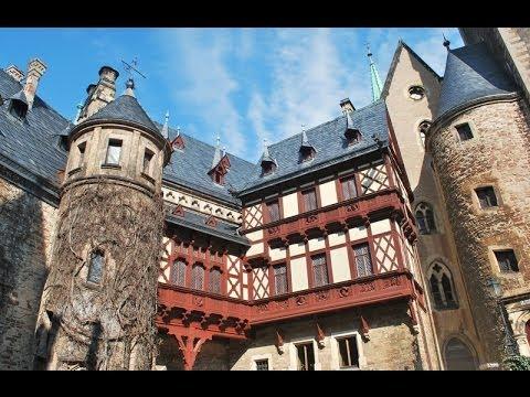 Schloss WERNIGERODE.  Замок Вернигероде