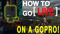 Stream Tip #4: How to Go LIVE on GoPro MAX