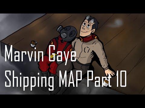 Marvin Gaye  Shipping map part 10