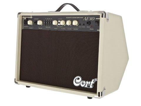Amplificador Cort AF30 - test por Jesús Amaya...
