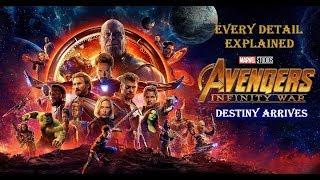 Avengers Infinity war Explained. Marvels Cinematic Universe Explanation