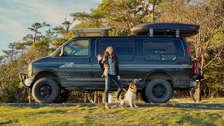 Ultimate Adventure Van Conversion | Full Tour | DIY camper | Tiny Home