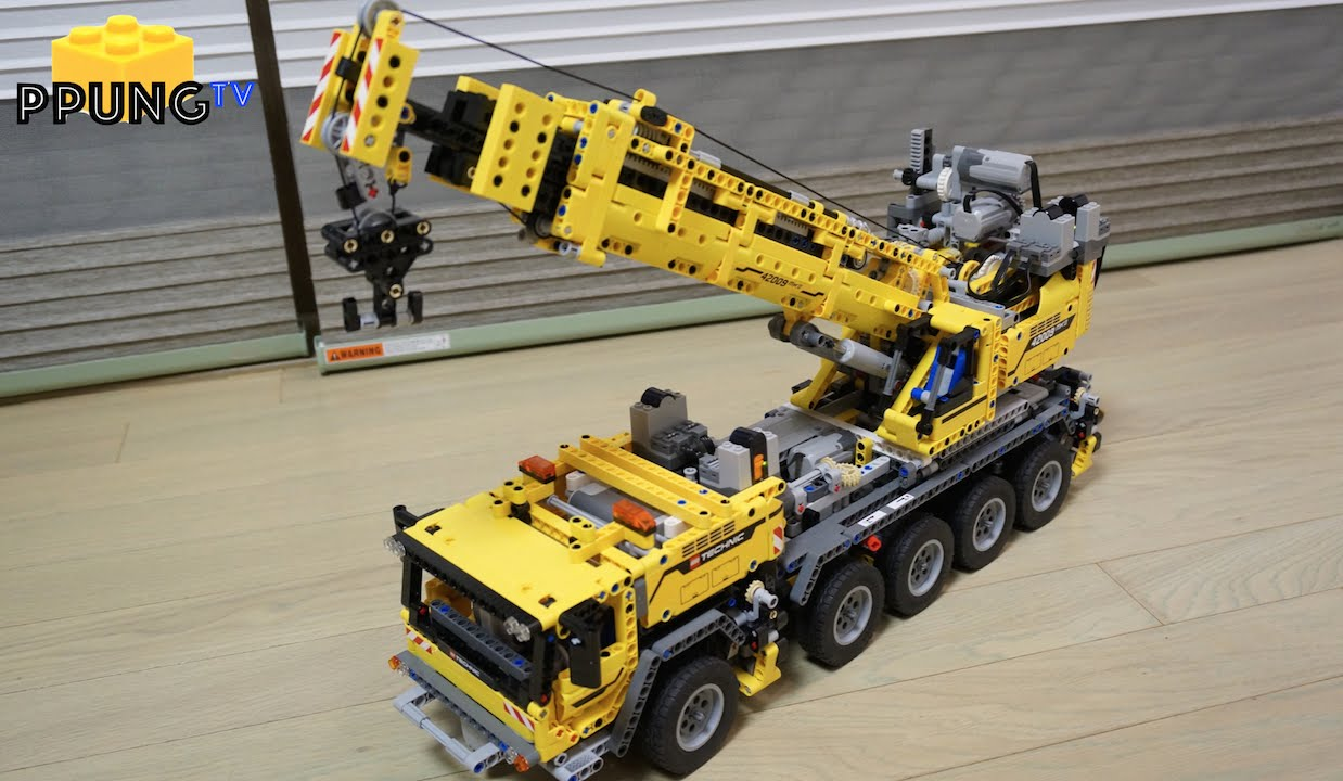 Lego Technic 42009 Rc Motorized Mobile Crane Mk Ii Review By뿡대디