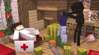 Repeat youtube video Top 10 Minecraft animations 2013