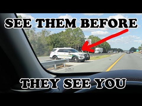 HOW TO AVOID A SPEED TRAP! (Without Radar Detector)