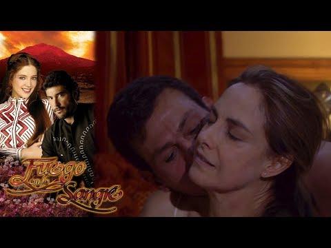 Gabriela Y Fernando Hacen El Amor | Fuego En La Sangre - Televisa