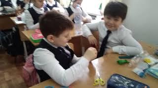 г. Грозный, Гимназия 1(41школа), урок труда в 4з классе 5 февраля 19г.,