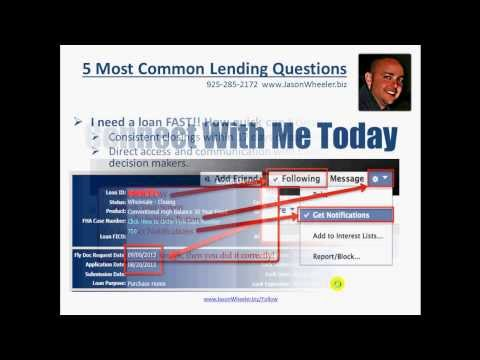 GETTING APPROVED FOR A HOME LOAN MOST COMMON QUESTIONS