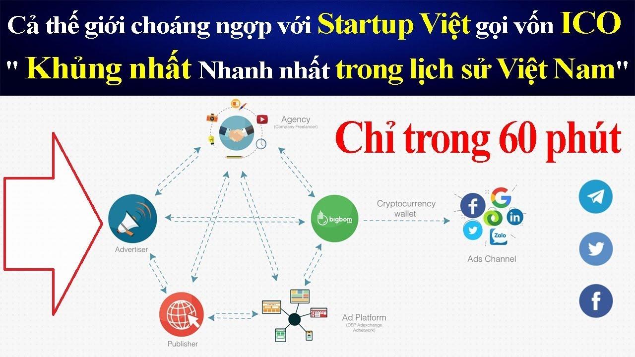 Cả thế giới choáng ngợp với Startup Việt gọi vốn ICO
