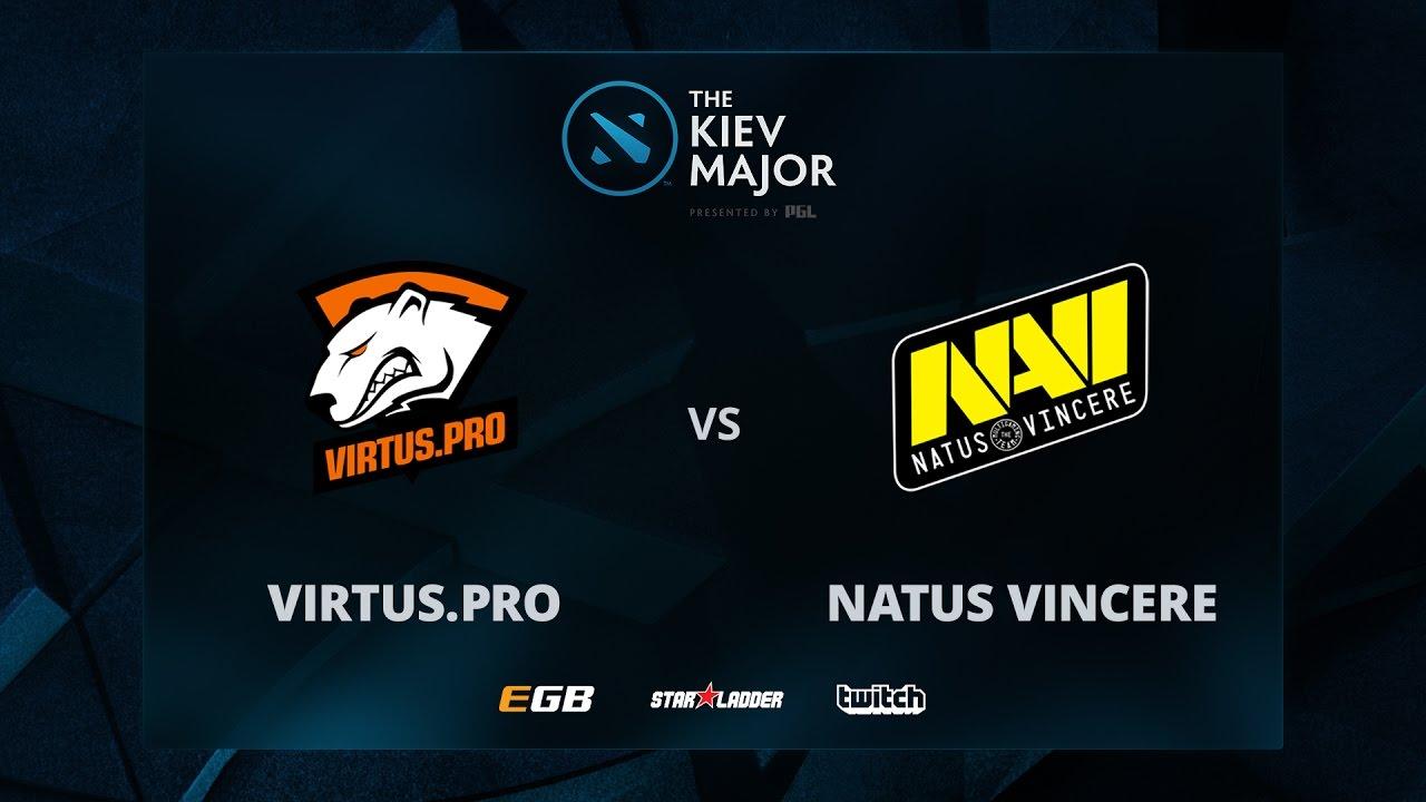 VP vs Na'Vi, Game 1, The Kiev Major CIS Main Qualifiers Play-off