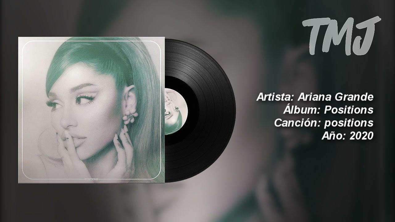 Letra Traducida positions de Ariana Grande