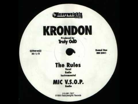 Krondon - Thin Minutes