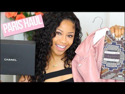 PARIS HAUL!! ➟ Clothing, Shoes, Accessories + Makeup