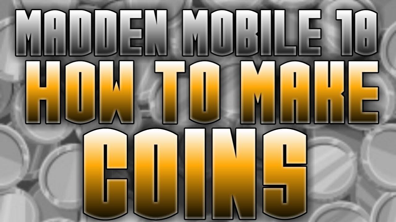 coin making method madden mobile 18