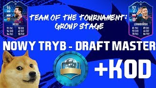 DRAFT MASTER-NOWY TRYB! TEAM OF THE TOURNAMENT+KOD