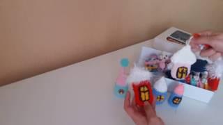 Вязание крючком новогодних игрушек.