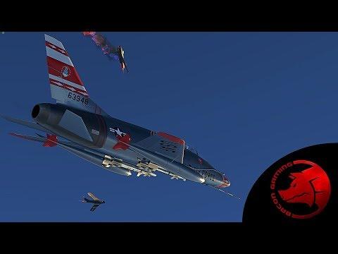 F-100 Super Sabre - 'The Big Gun' - 1.85 War Thunder Dev Server