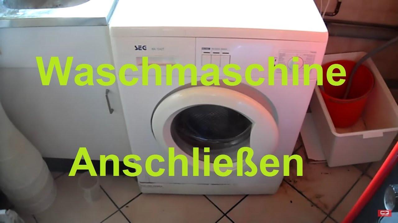 Dusche Abfluss Anschliessen 2 Waschmaschinen An Einen Wasserhahn