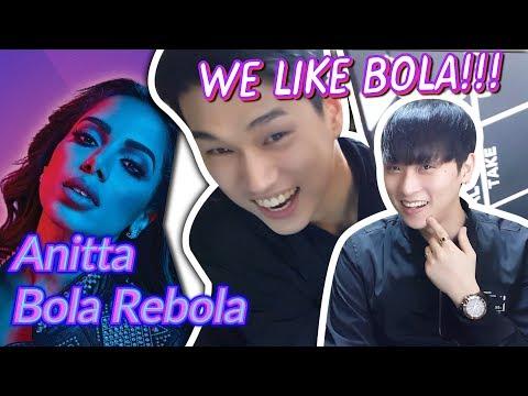 K-pop Artist Reaction Tropkillaz J Balvin Anitta - Bola Rebola ft MC Zaac 🔥🔥