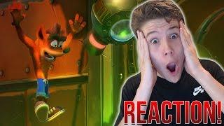 Crash Bandicoot N.Sane Trilogy Trailer REACTION - HOLY SH*T!