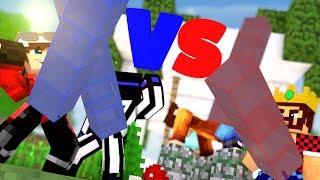 БИТВА СТОЛБОВ 2х2 АИД И СМЕЙЛ ПРОТИВ ТЕРОСЕРА И ДЕМА! Minecraft