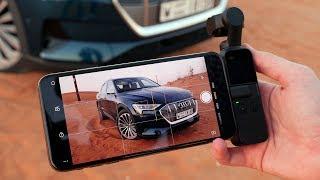 Лучшая камера для iPhone от DJI? Снимаем электрическую Audi в ОАЭ и решаем вместе...