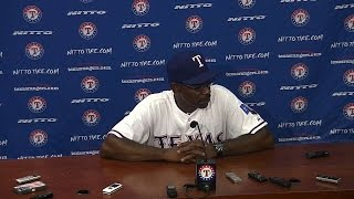 TB@TEX: Washington talks about loss to the Rays