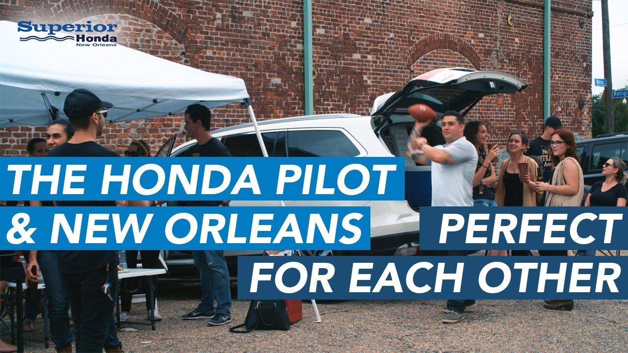 why new orleans loves the honda pilot youtube. Black Bedroom Furniture Sets. Home Design Ideas