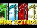 OP SCYTHES MOD CHALLENGE | Minecraft - Mod Battle