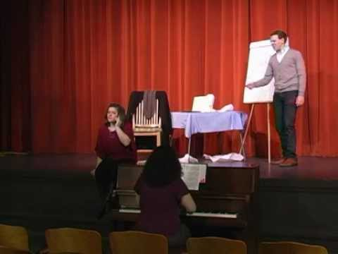 Opera North's Young Artist Program -- The Telephone