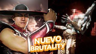 💀 !!NUEVO BRUTALITY de KUNG LAO!! || DESPRENDIEND0 CABEZAS ... (EPICO) - Mortal Kombat 11
