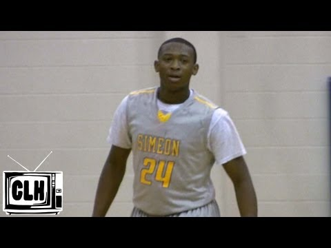 Kendall Pollard is A STEAL for Dayton - Chicago Simeon - Class of 2013 Dayton Recruiting