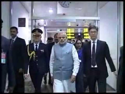 PM Modi departs from Singapore