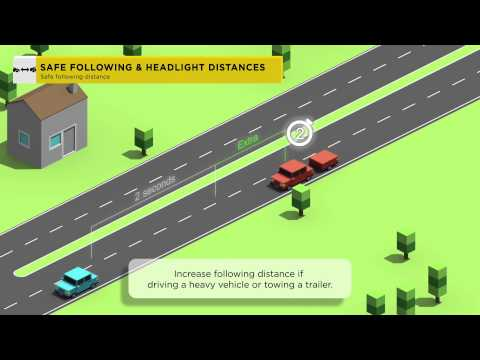 #10 Following Distances - 12 Most Asked About Road Rules