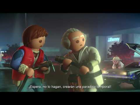 BACK TO THE FUTURE 35th - Playmobil Teaser Video