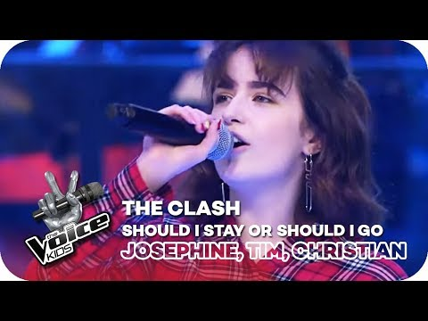 Should I Stay Or Should I Go - The Clash (Josephine, Tim, Christian) | The Voice Kids 2018 | SAT.1