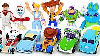 Awesome! Disney Pixar Toy Story 4 Hot Wheels cars are in gift box!