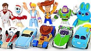 Круто! Історія іграшки Disney Pixar 4 гарячі колеса автомобілі в подарунковій коробці!