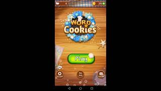 Word Cookies | Home Baker / Butter | word Making Gameplay Video