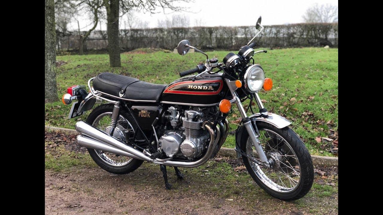 1979 Honda Cb550 Four For Sale Youtube
