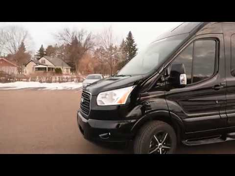 Executive LIMO Ford Transit 148 EXT High Roof Van Party Bus