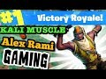 #1 WORLD RANKED  &  #1 BODYBUILDER FORTNITE PLAYERS | AlexRamiGaming + Kali Muscle