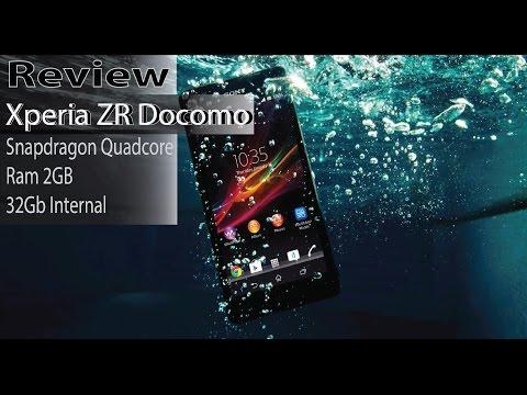 Review Xperia ZR Docomo 32GB 13MP