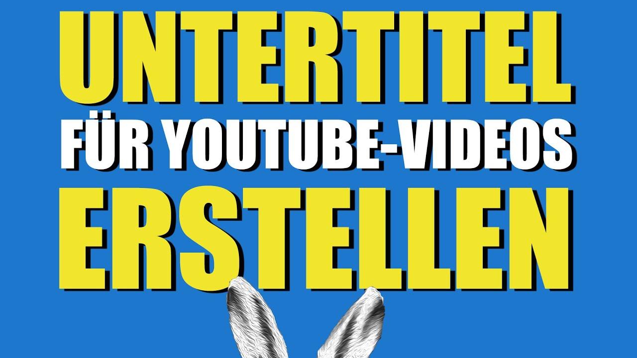 Untertitel für Youtube-Videos erstellen - so geht's // Nutzt eure Superpowers!