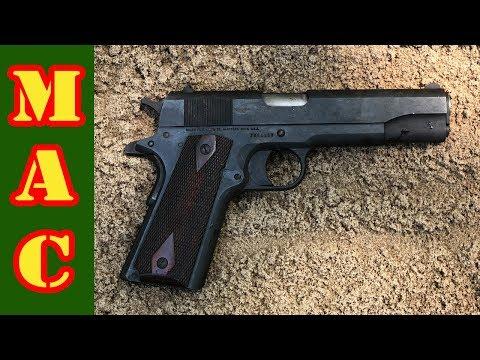 Colt 1911 .45 ACP Torture Test