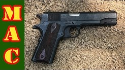 Colt 1911 .45 ACP Torture Test - Gauntlet