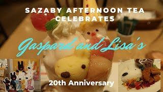 Gaspard and Lisa Pop Up Cafe at Sazaby Afternoon Tea