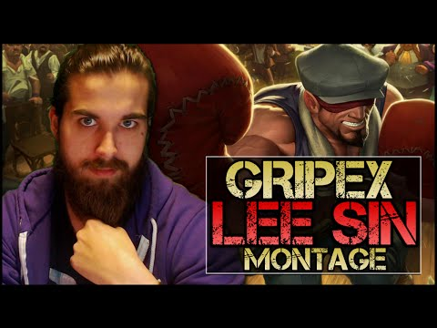 Gripex Lee Sin Montage #2 - Best Lee Sin Plays